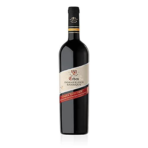 Erben Dornfelder Barrique Trocken (1 x 0.75 l) Rotwein aus Deutschland - Qualitätswein Pfalz