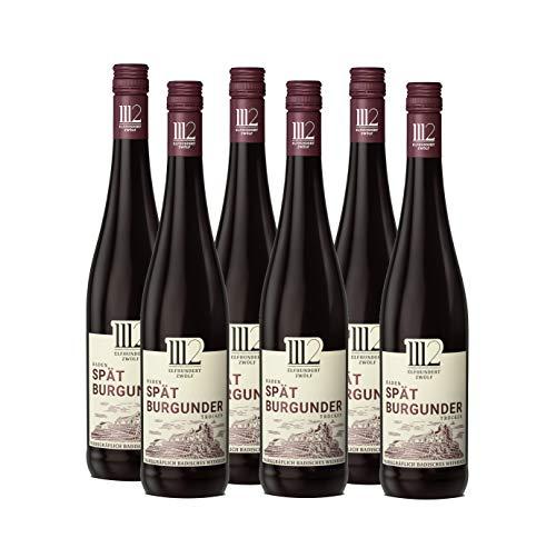 1112 Spätburgunder Trocken – Rotwein der Marke Elfhundertzwölf (6 x 0,75l)
