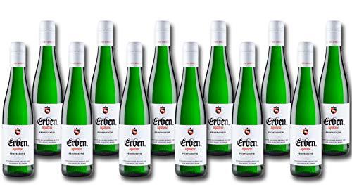 ERBEN Spätlese Feinfruchtig (12 x 0.25 l) – Weißwein aus Deutschland – Prädikatswein –