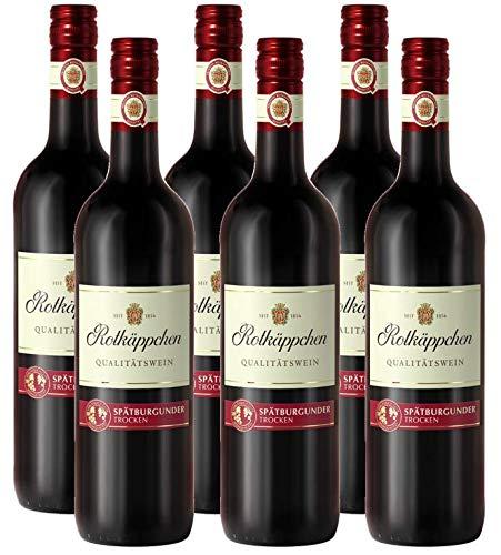 Rotkäppchen Qualitätswein Spätburgunder trocken (6 x 0.75 l)