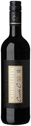 Württemberger Wein Fleiner KARMELITER Cuvée C Rotwein QW - Im Eichenfass gereift - trocken (1 x 0.75 l)
